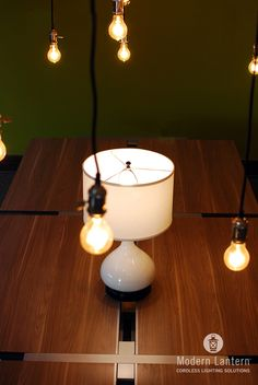 The Bartlett Lamp, Crackle Finish, Cordless Lighting, Battery Operated,  Rechargeable Lighting,
