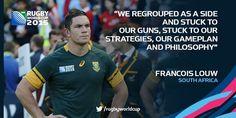 Francois Louw #homegroundadvantage #Springboks #RWC2015