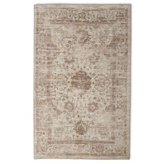 *similar* Master Bedroom Rug $184. Vintage Distressed Area Rug - The Industrial Shop™ - Neutral
