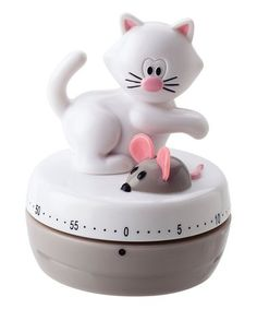 Another great find on #zulily! Pink Meow Kitchen Timer #zulilyfinds