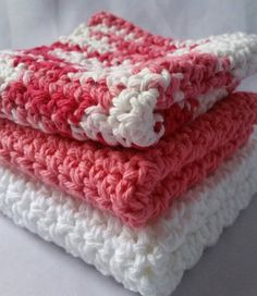 Check out this item in my Etsy shop https://www.etsy.com/listing/495623928/set-of-3-handmade-crochet-dishcloths-100