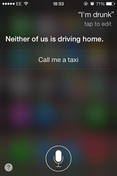 When you're too drunk to drunk-text: | 19 Things To Ask Siri When You're Bored