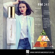 NEW FM FRAGRANCE COMING SOON FM Perfume 241 is a graceful, highly feminine Federico Mahora parfum with a timeless charm. Now, thanks to smaller 15ml bottle, you can take it anywhere you go!  Find out more about FM Group perfumes at https://www.fmperfumegroup.co.uk/fm-perfume.html