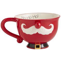 Santa Moustache Mug | Pier 1 Imports