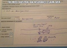 Funny Memes – [The Most Australian Insurance Claim Ever]