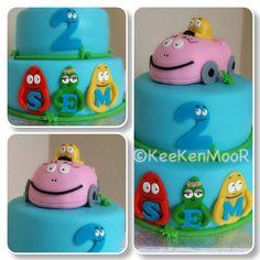 Barbapapa cake by KeeKenMooR