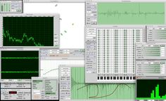 SuperCollider is a programming language for real time audio synthesis and algorithmic composition