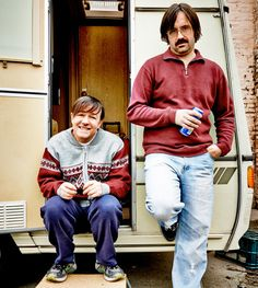 Ricky Gervais and David Earl in Derek