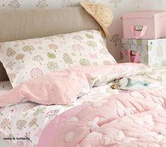 Esme bed linen, Laura Ashley collection, Autumn 2011 #soft_furnishing #girls #bedroom #children