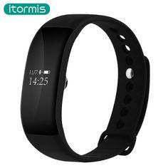 itormis Newest B34 SmartBand PK mi band 2 DZ09 Waterproof Heart Rate Monitor Smart Band Wireless Fitness Tracker Wristband #Affiliate