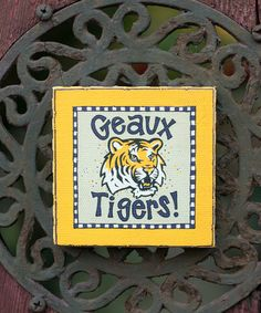 Louisiana State Logo Magnet #zulily #zulilyfinds