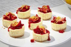 Lemon-White Chocolate Mini Cheesecakes - Kraft Recipes
