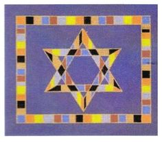 Star with Block Border Tallit
