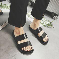 2a38b739d 62 Best SANDALS - SHOES ♡ Aesthetic Korean Fashion