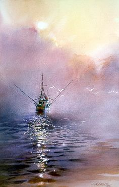 Morning by the Sea by Nita Engle