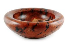 Deep Turned Redgum Wooden Burl Bowl | Australian Woodwork - FREE Gift Wrapping - FREE Handwritten Gift Card - Fast Same Day Shipping - FREE Shipping for orders over $100 - Our usual Money Back Quality Guarantee!