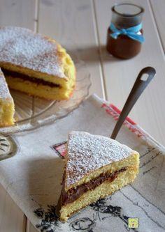 torta versata alla nutella