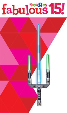 A galaxy far, far away is right within reach with the Star Wars Episode VII Signature Lightsaber! #TRUHotToyList
