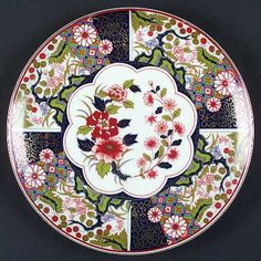 Artmark at Replacements, Ltd Ceramic Plates, Decorative Plates, Japanese Porcelain, China Patterns, Chinoiserie, Flower Vases, Japanese Art, Decoupage, Hand Painted