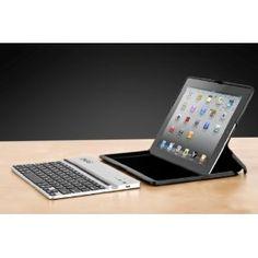 ZAGG ZAGGfolio for iPad 2/3 Carbon with Silver Keyboard (FOLCARSLV101)