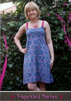 Trägerkleid Marlies by #Allerlieblichst