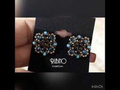 Tutorial orecchini a lobo Sweet Sweet lobe earrings tutorial. Beading Patterns Free, Beaded Jewelry Patterns, Beading Tutorials, Handmade Jewelry Tutorials, Twin Beads, Earring Tutorial, Beaded Rings, Wire Wrapped Jewelry, Bead Weaving