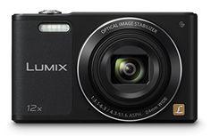 Panasonic Lumix DMC-SZ10EB-K Compact Digital Camera - Black (16 MP, 12x Optical Zoom)