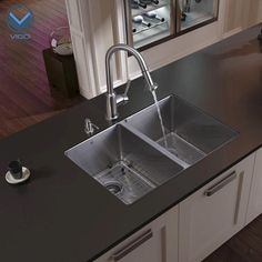 VIGO Stainless Steel Undermount Kitchen Sink Faucet Accessories At Menards