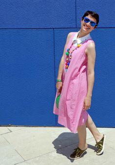 Pink dress #kissmylook
