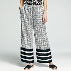 Peter Som for DesigNation Palazzo Soft Pants - Women's