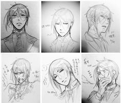 The different faces of Sebastian Michaelis part 4