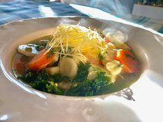 Vacsorázz Borbás Marcsival! – Téli zöldségleves | egy.hu Ramen, Japanese, Ethnic Recipes, Food, Japanese Language, Eten, Meals, Diet
