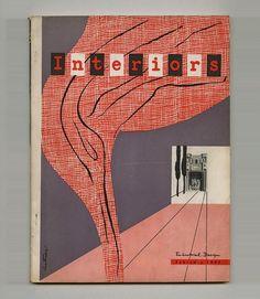 1947 Ladislav SUTNAR Designing Information INTERIORS Paul RAND Saul STEINBERG