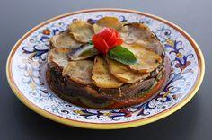 Tiella (A Layered Vegetable Dish) Delicious and Pretty!