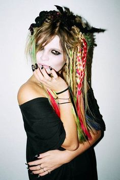 #goth with color!