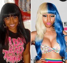 Nicki Minaj Before And After Full Body