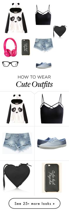 """""""Cute outfit to wear at school"""" by lexiahyo on Polyvore featuring Garcia, Keds, Zara, Apple, Converse and Christopher Kane"""