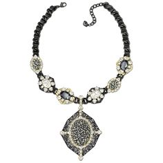 VERMEIL necklace with removable brooch Look In The Mirror, Coco Chanel, Swarovski, Bling, Brooch, Pendant Necklace, My Style, Accessories, Beauty