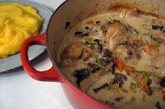 Romanian Creamed Chicken (Ciulama de pui) recipe on Food52