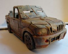 Chicago Skirmish Wargames: 28mm on the cheap: Toy cars as wargames vehicles