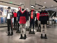 2017 Fall Collection ~ Ladies Instore Display Boutique Ideas, Fall Collections, Visual Merchandising, Cool, Motorcycle Jacket, Display, Female, Store, Lady