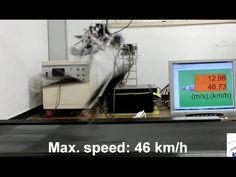 Velociraptor Robot: KAIST Raptor robot runs at 46 km/h, Active tail stabilization Futuristic Technology, Science And Technology, Real Robots, Richard Feynman, Smart Robot, Super Robot, Weird Science, Robot Design, Deep Space
