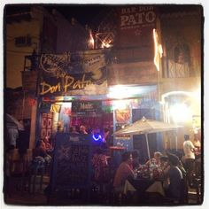 Bar Don Pato en Sayulita.