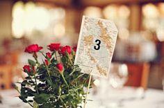 6 Wedding Table Number Ideas