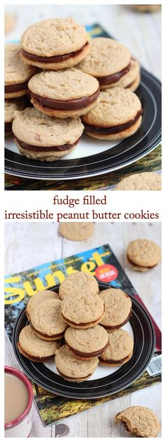 Not your typical peanut butter cookies. There fudge filled cookies are soft and chewy with satisfying peanut butter taste to fix your cravings.