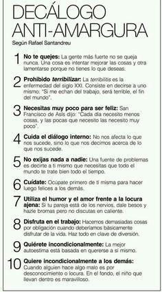 Para ser feliz solo necesitamos 10 cosas! #daphneeyyolanda #infografia #serfeliz