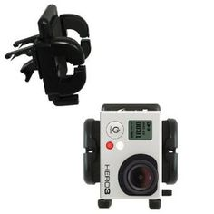 Vent Swivel Car Auto Holder Mount for GoPro Hero3 - i have a smart fourtwo 2003 and this will be perfect for in car recordings from the vent.