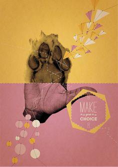 Make your choice! by Cristina Buonanno, via Behance