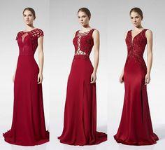 Lady in red! Vestido de festa vermelho para formandas e madrinhas!