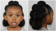 Trendy crochet hair styles for kids fun Ideas Baby Girl Hairstyles, Back To School Hairstyles, Natural Hair Care, Natural Hair Styles, Natural Makeup, Cabello Afro Natural, Bubble Ponytail, Natural Hairstyles For Kids, Easy Hairstyles